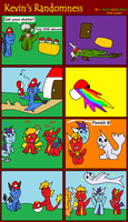 Kevin's Randomness #9 by BlueEvelyn