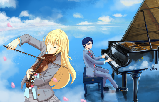 your lie in april by kyocs