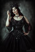 The Dark Queen II by Silver-Pearl-Photo