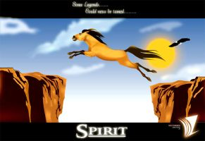 Spirit the stallion by deaddevil
