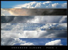 Enhanced Clouds - Pack 1 by chromostock