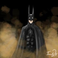 Batman - speedpaint by Torvald2000