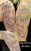 Teapot Sleeve session 2 by lavonne