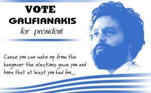 Galifianakis for president by Undeadgoth