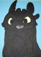 Toothless Acrylic by Stargazer96