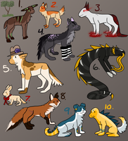 Mixed Adopts 3 - CLOSED by Subberz