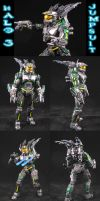 Halo 3 Spartan Jumpsuit by Jin-Saotome
