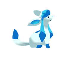Shiny Glaceon by puffley115