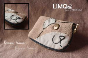 Brown Haum - Handmade Wallet by LIMOmade