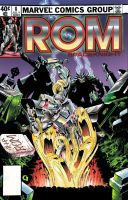 Michael Golden, ROM The Spaceknight 8 by Stirlz