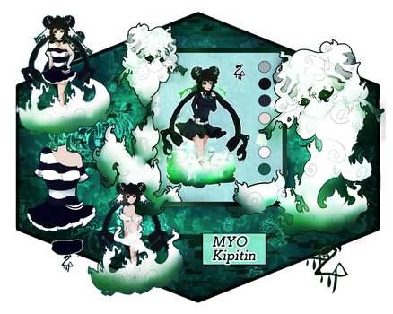 {Com 1/2} Kipitin MYO (Slytherin) by Yurei-Pon