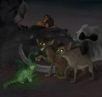 Genet Ghosts by spiritwolf77