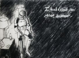 Depresed storm trooper... by o-BS-o