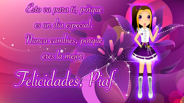 Cumple de Piaf - Version CuteGirls Project by gabxrevolution05