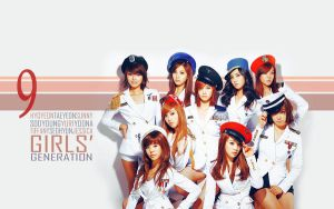 SNSD Wallpaper by wbdiella