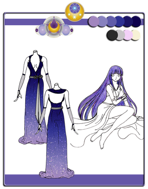 Quietus Designs: Moonshine Gown ~ incomplete
