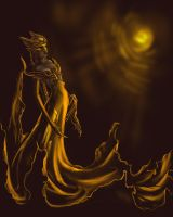 the gold queen, or griffin by redwin12