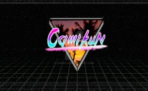 CamiKun Retro Logo by CamWolf