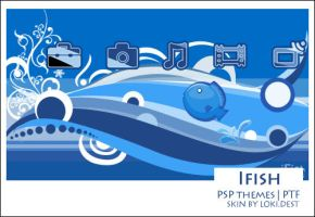 PSP Theme - ifish by lokidest