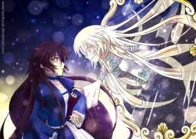Pandora Hearts - Alice and Abyss by SpukyCat