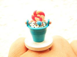 Ice Cream Sundae Bucket by souzoucreations