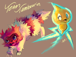 Team Tambourin by MusicalCombusken