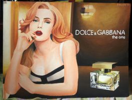 Dolce and Gabbana Perfume Layout plate by ffdiaries958