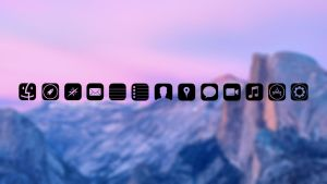 IOS Icons for Mac Black by jorgenwoldengen