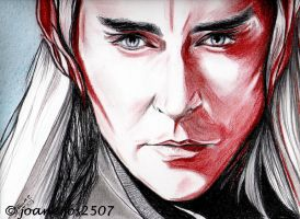 Lee Pace Thranduil, sanguine by jos2507