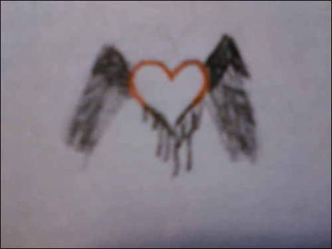heart with wings by hayleydastrange