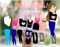 Free Style Clothes. by YourAmiradoraSecret