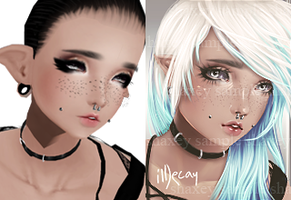 Before And After Ildecay by Shaxey