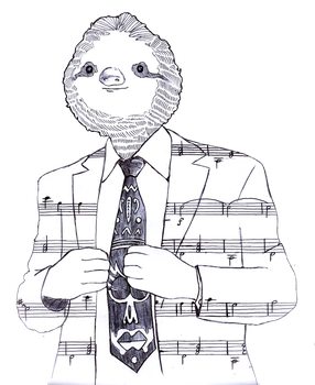 Sloth by beaulivres