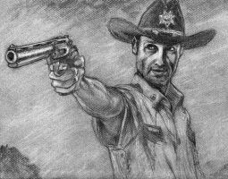 Rick from the early days by NicoBlue
