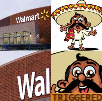 What Mexican's are triggered by by usopprules98