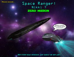 Space Ranger Nikki 7 Zero Mission cover by GlobtheSpacetoad