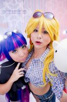 Anarnchy Sisters posing::: by Witchiko