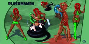 Black Mamba Commission by FBende