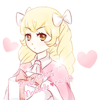 HAPPY BIRTHDAY MARIBELLE by Kyouheii