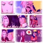 Sakura and Naruto by brsa
