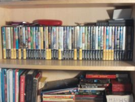 my massive gamecube collection by StitchesX0