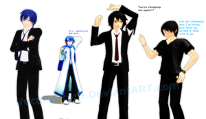 MMD Updating My Peoples by Vocalkokoro