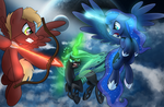 Battle for Equestria by drawponies