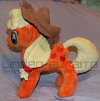My Little Plush: AppleJack by Linden-Furaito