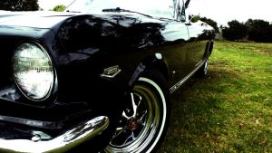 1966 Mustang GT Front by aNdre-W