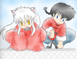 Fence sitting. :coloured: by twosen