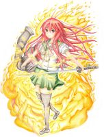 Shakugan no Shana by stray-life