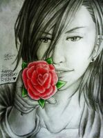 *HBD + Happy Valentines Day Ren!* by AniMusision