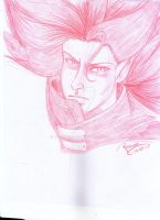 Vampire Hunter D sketch by Reenave