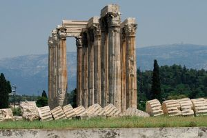 The Temple of Olympian Zeus by mr-lacombe
